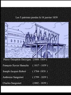 18 janvier 1839: #Autre150e @autre150e #canada150  Des Patriotes sont pendus à Montréal pour avoir pris part aux rébellions de 1838. #PolQc<br>http://pic.twitter.com/aMAChWIykV