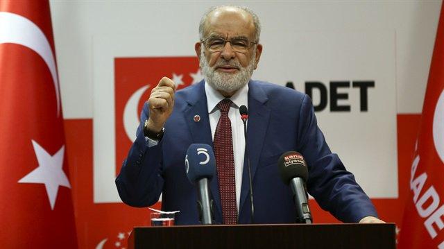 Saadet Partisi Genel Başkanı Karamollaoğlu'ndan 'anayasa' açıklaması:...