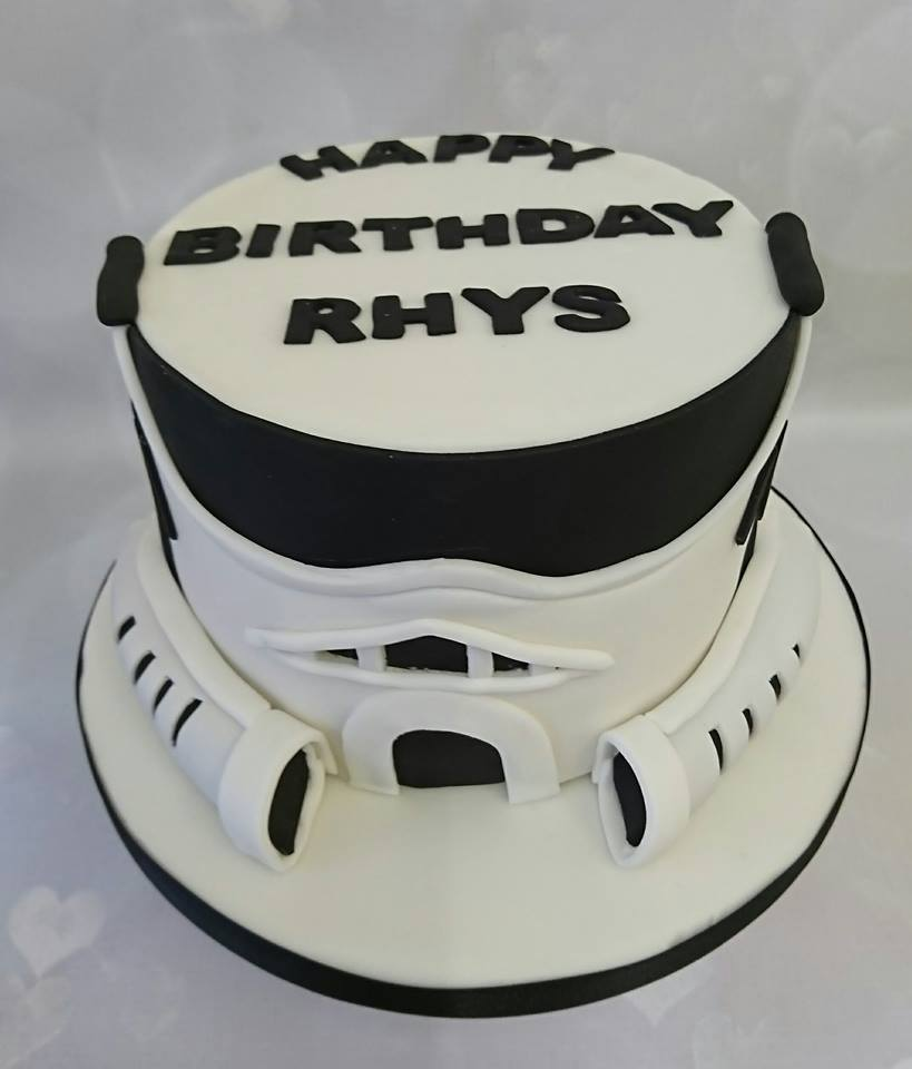 Sensational A Cake For You On Twitter Happy Birthday Rhys Starwars Personalised Birthday Cards Paralily Jamesorg