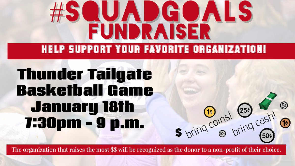 Help support a student organization tonight! #SQUADGOALS https://t.co/...