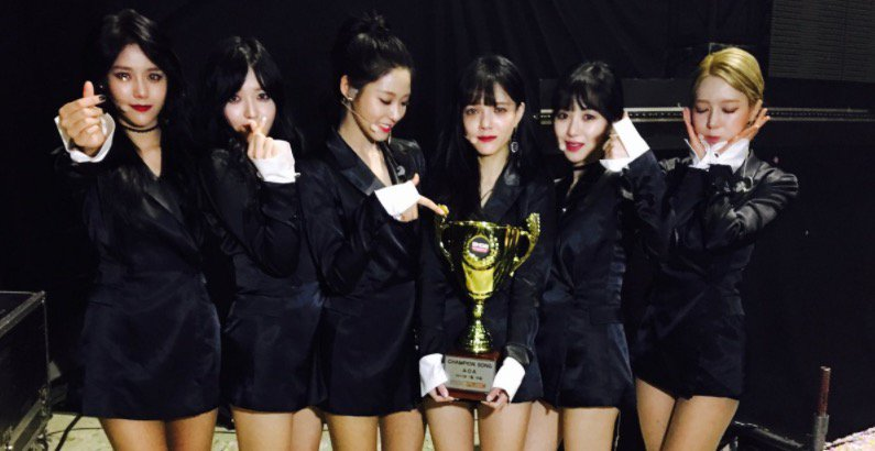 "WATCH: #AOA Grabs #ExcuseMe1stWin On ""Show Champion'  https://t.co/VbV..."