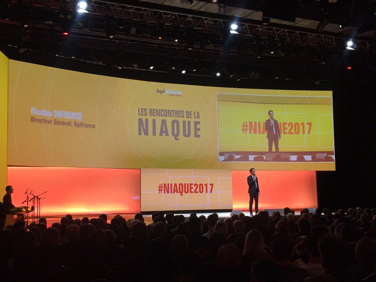 C'est parti ! Lancement des Rencontres de la Niaque avec @NicolasDufou...
