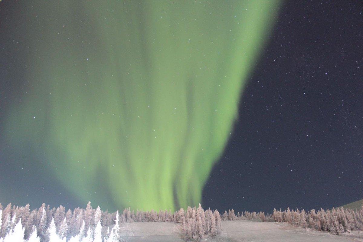 C&#39;est en #Laponie que Kate se prépare à affronter le froid ! Objectif #wintertail #Auroraborealis On est toutes un peu jalouses <br>http://pic.twitter.com/Uu51kPfPUl