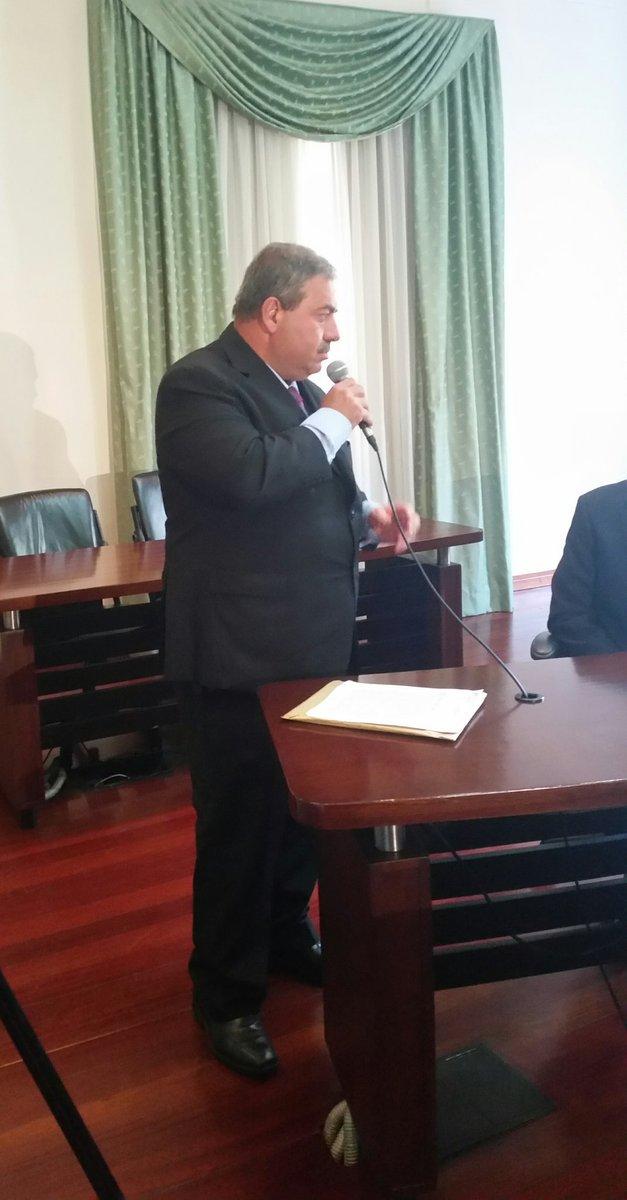 CP de Política Interior otorga derecho de palabra a José Carcón, alcal...