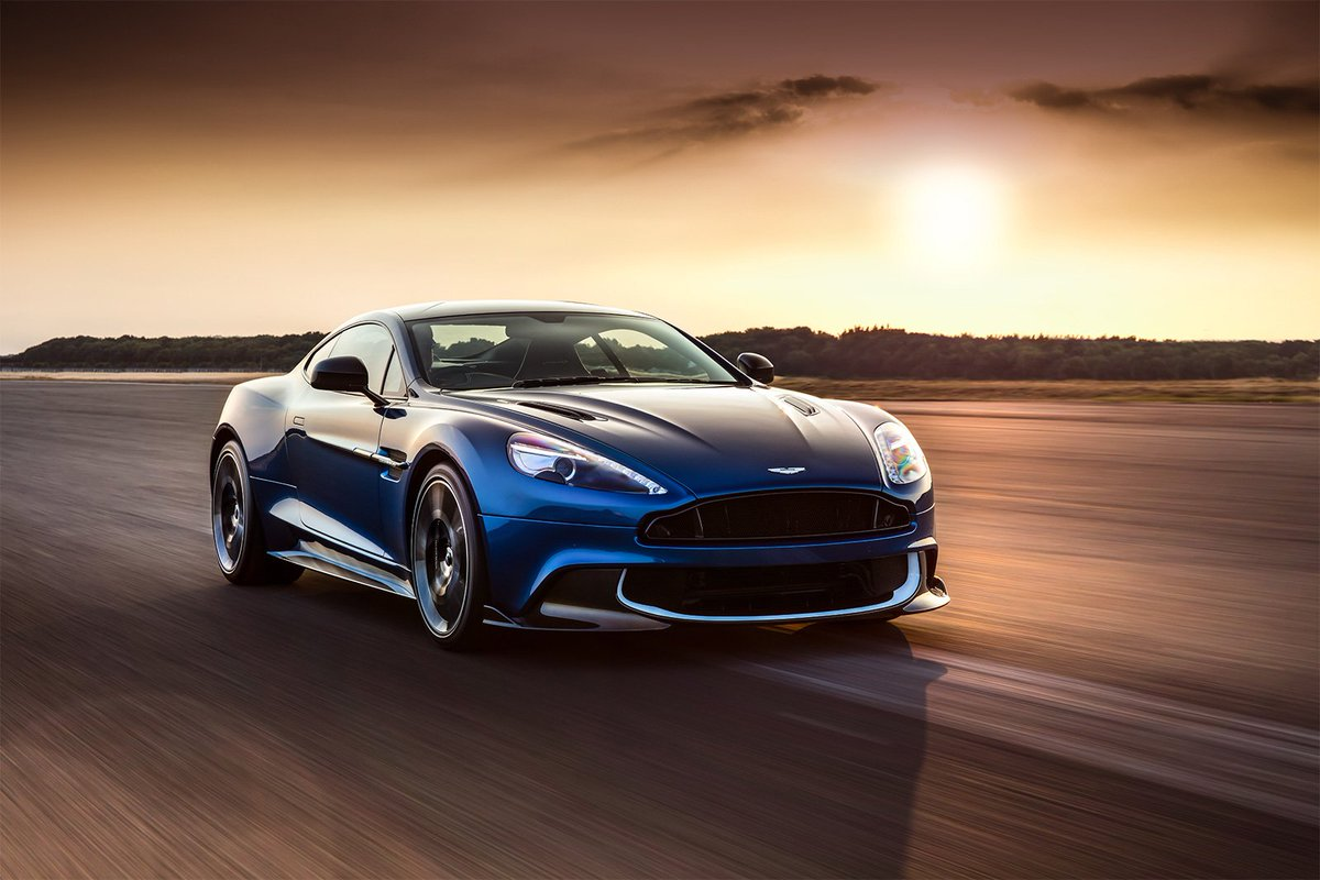 The new Vanquish S is cloaked in a suit of carbon.  Explore: