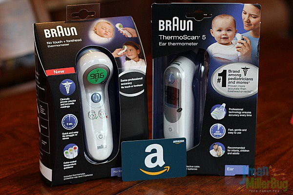 Enter to #WIN a #BraunThermometers prize pack & a $50 Amazon GC here: https://t.co/I5UfPNHHOa #MomHacks #ad https://t.co/KlgemXVBOf