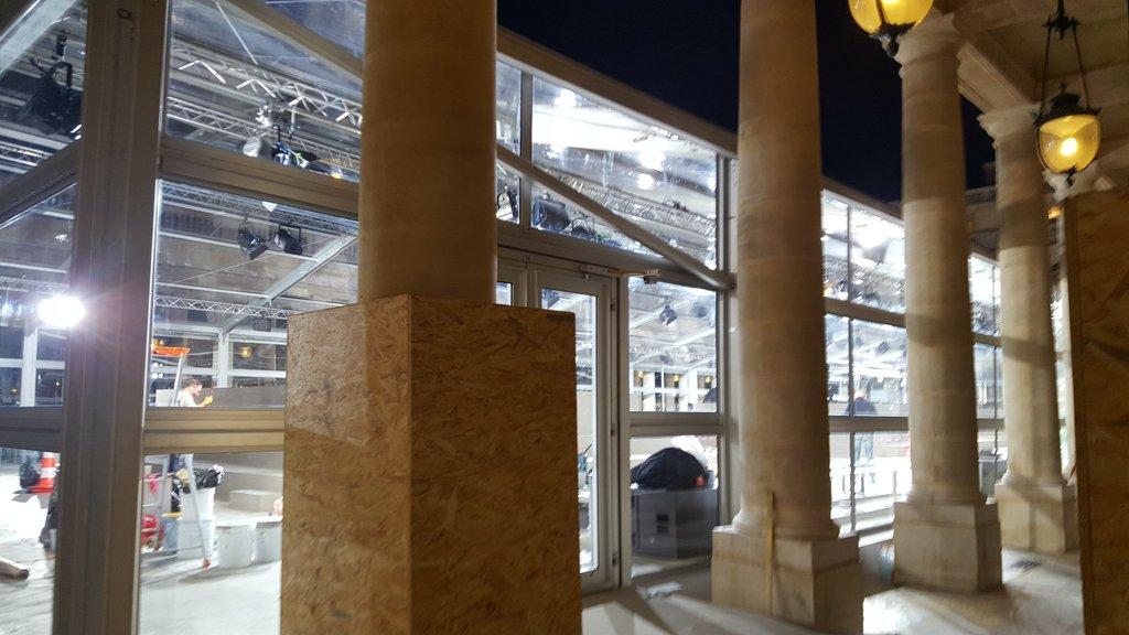 Au @MinistereCC faut que ça brille #Energie #privatisation #PalaisRoyal @AAzoulay<br>http://pic.twitter.com/wZcCs4OQYt