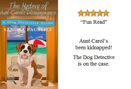 Take a relaxing break with this mystery #shortstory featuring a dog #detective #IARTG  https://www. amazon.com/Mystery-Aunt-C arols-Disappearance-Detective-ebook/dp/B00RZNAQD6/ref=sr_1_1?ie=UTF8&amp;qid=1484750274&amp;sr=8-1&amp;keywords=the+mystery+of+aunt+carol%27s+disappearance &nbsp; … <br>http://pic.twitter.com/Up2u5wQVtw