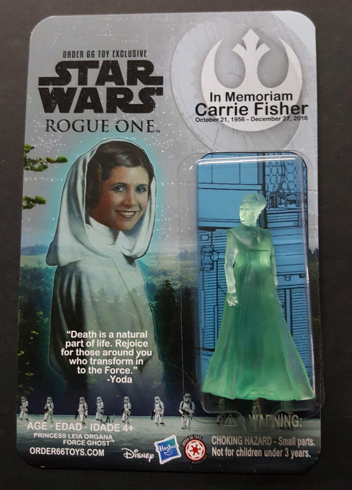 Новости Звездных Войн (Star Wars news): Игрушка памяти Кэрри Фишер