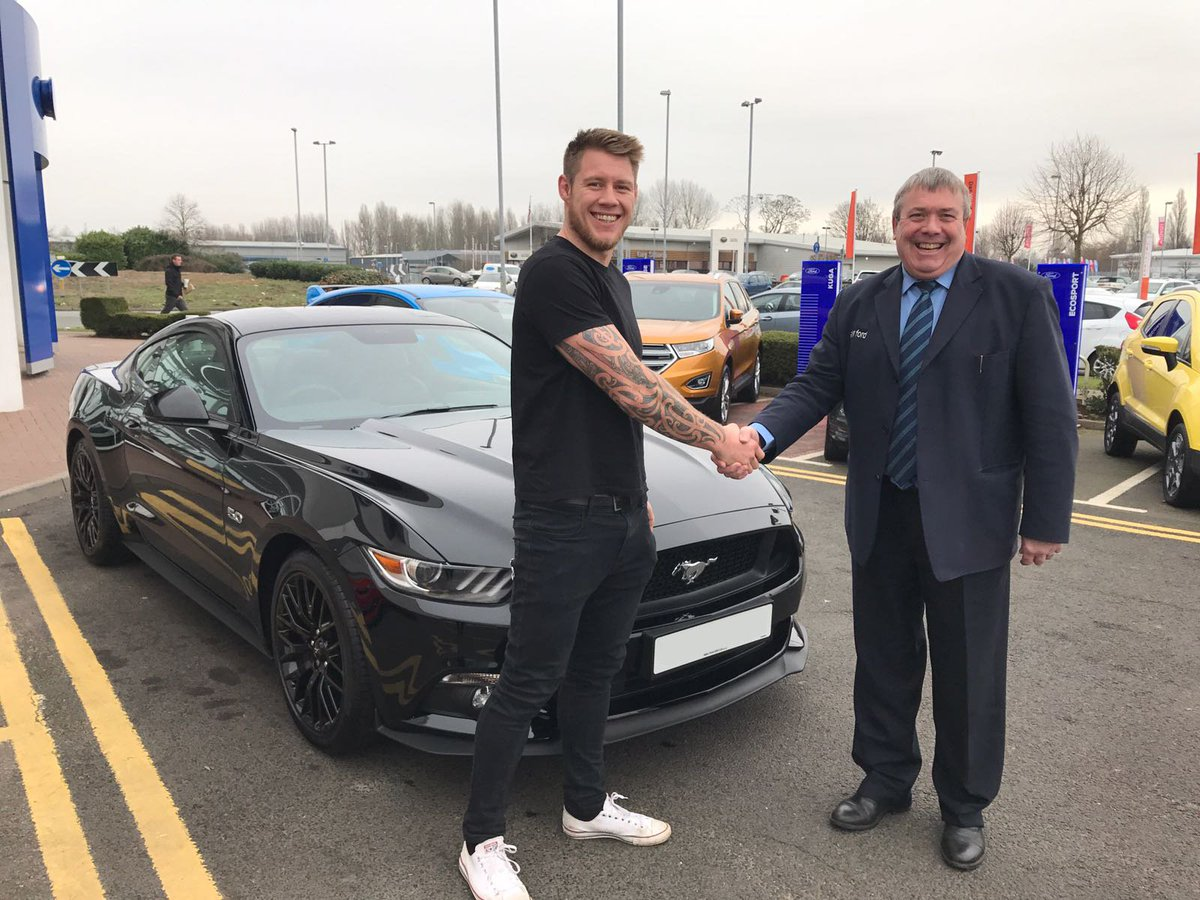 Allen Ford UK on Twitter  North&ton Saints and England Rugby Star Teimana Harrison picking up his stunning New Mustang! //t.co/L5GyDWaahe   sc 1 st  Twitter & Allen Ford UK on Twitter: