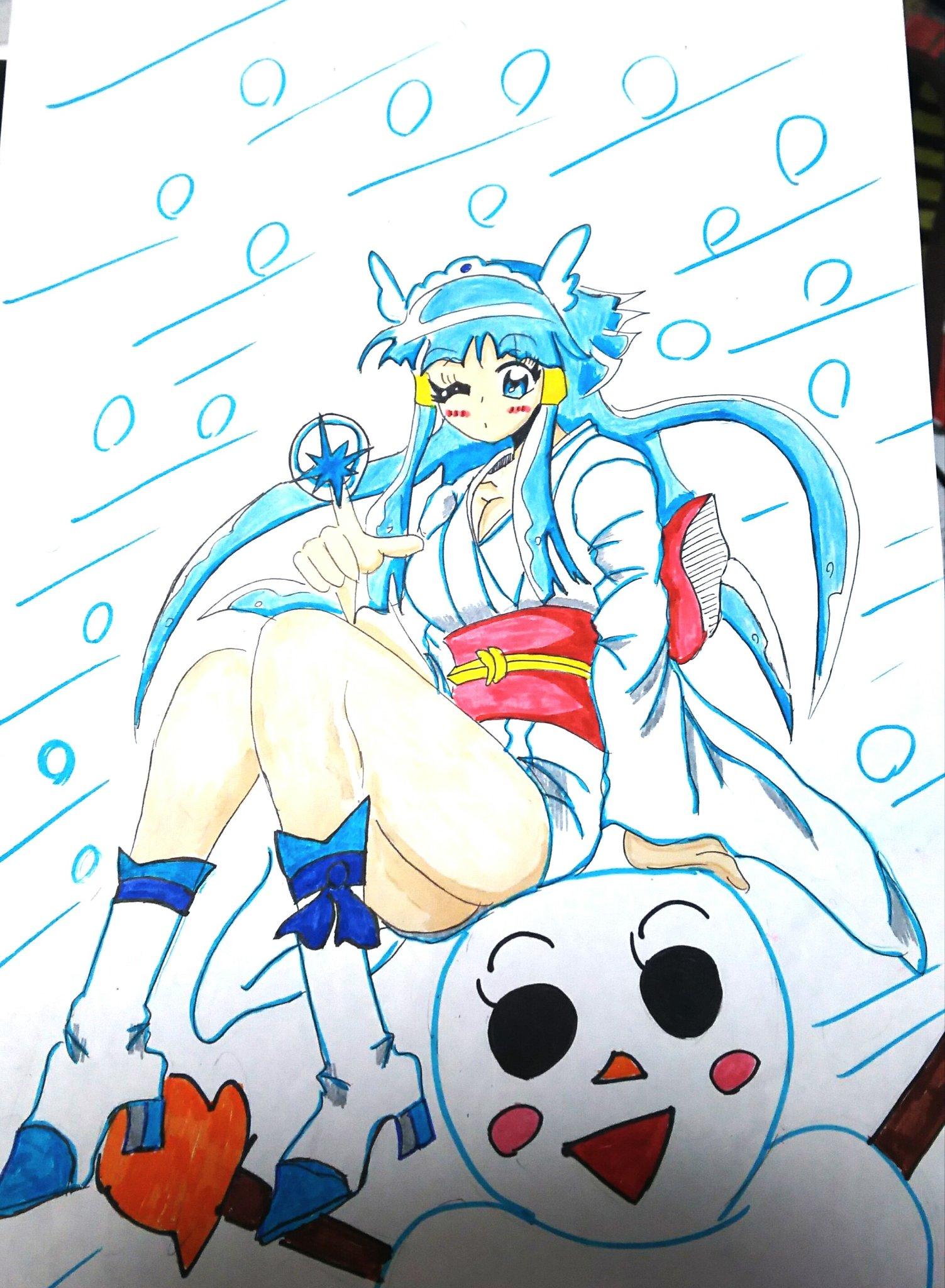 jun (@yumetsunagu_d_7)さんのイラスト