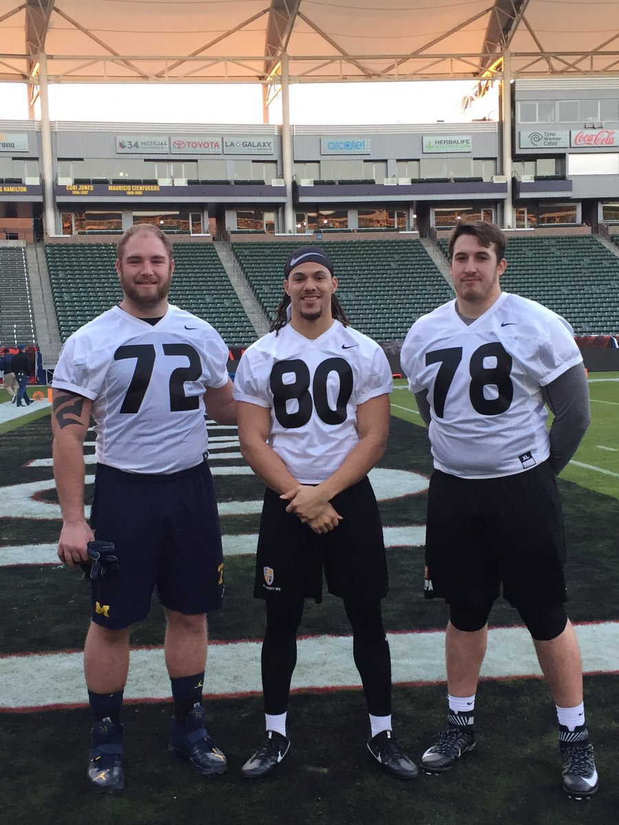 Our #NFL combine guys enjoying the sun in Cali for the @NFLPABowl ☀️ #SVSPFam https://t.co/SIBcpoxZTa