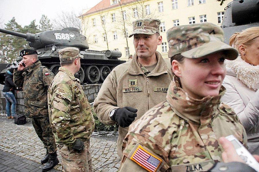 Американские войска в Польше