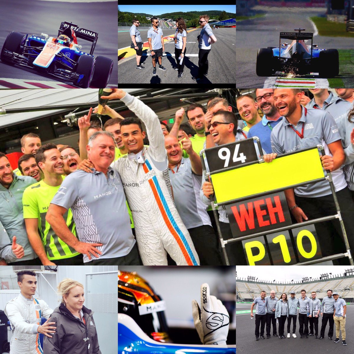 Thank you very much @ManorRacing for the great season 2016! Wish all of you all the best!  1 Point - 5xQ2! Hope to see you in the paddock! https://t.co/6CbjEdLUPI