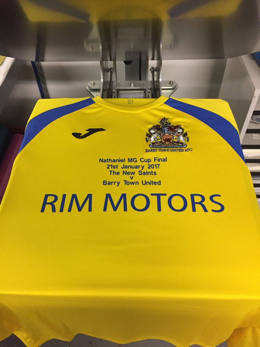 We are putting the finishing touches to the @BarryTownUnited Nathaniel...