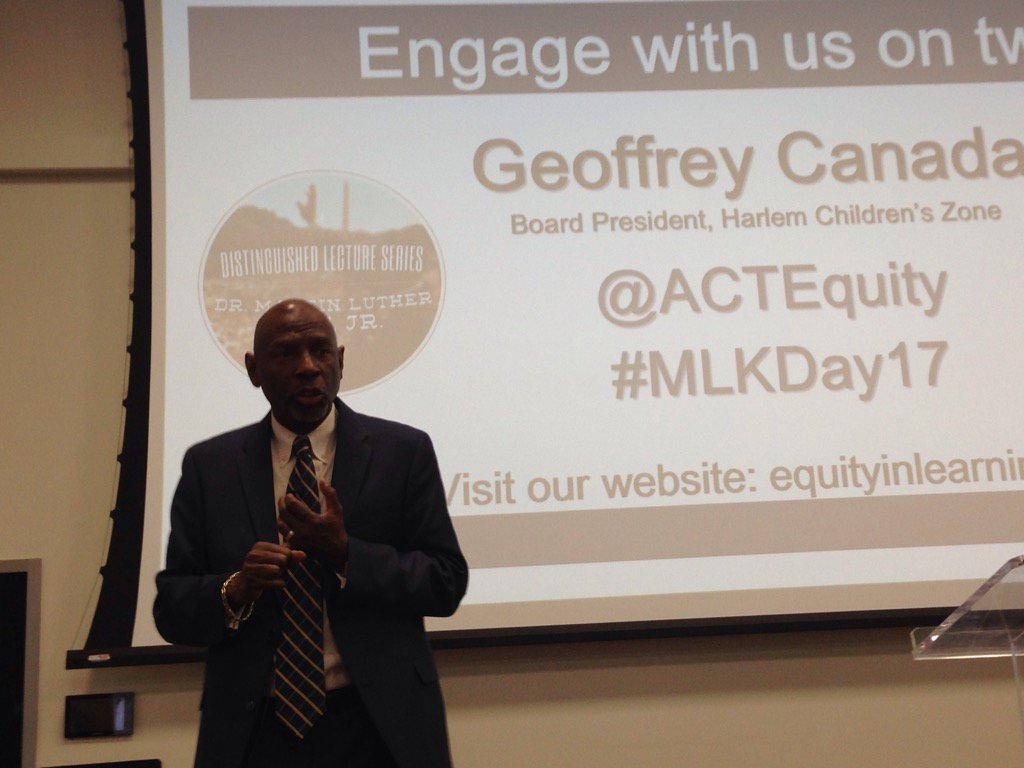 """providing kids with opportunities"" Arts, sports, music @ACTEquity #MLKDAY17 Geoff loved Green Eggs & Ham #education https://t.co/hWAO9VAqdk"