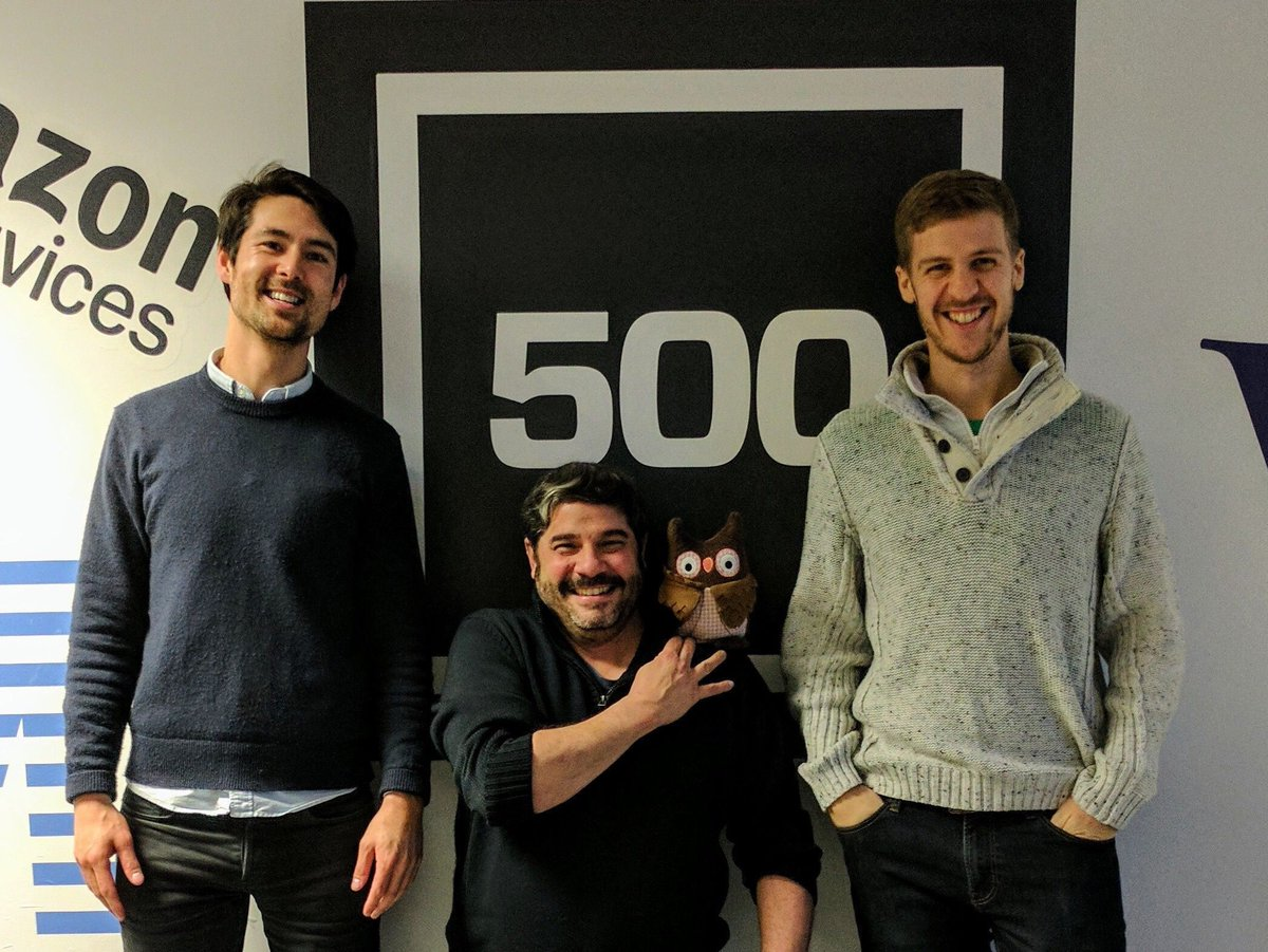 Keep smiling lads! Our coworkers working up a storm at @500Startups in #SiliconValley   @chrisjenx @sanford #homesecurity <br>http://pic.twitter.com/DcOGrYSsk4