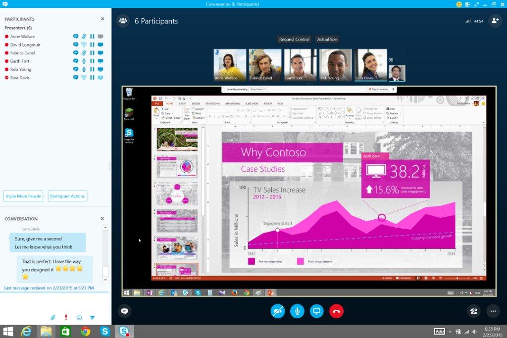 Lync / skype – powerpoint is not working | neway.