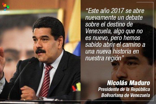 .@NicolasMaduro reiteró su llamado a la oposición para el diálogo http...