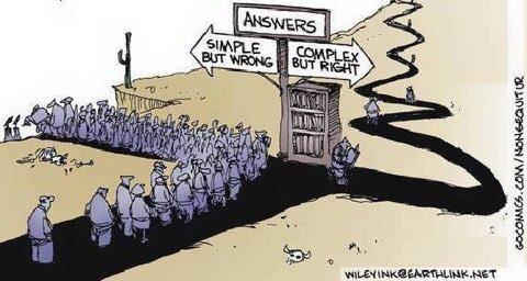 Answers: Simple Vs. Complex