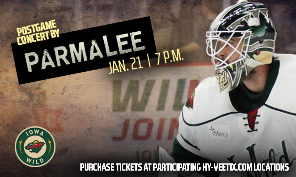 Last chance to purchase your @IAWild Country Night tix featuring @Parm...