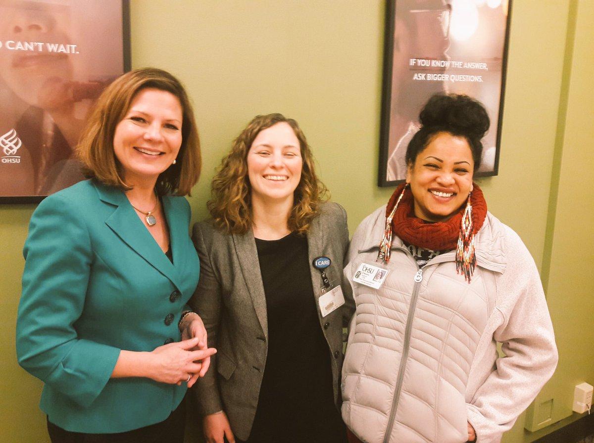 "Melissa Weimer on Twitter: ""Enjoyed sharing info about #addiction, #recovery, #OHSU #innovations & power of #peers like O'Nesha with @KATUNews @DebKnappKATU ..."