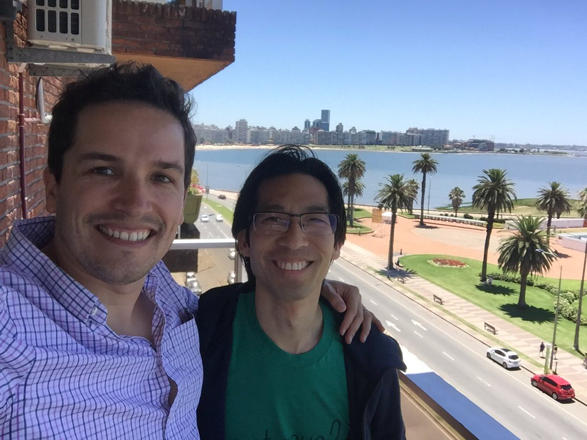 Thank you very much @marvinliao for visiting @tryolabs and @monkeylearn offices! /cc @500Startups #500Strong https://t.co/zBjTyIeyUA