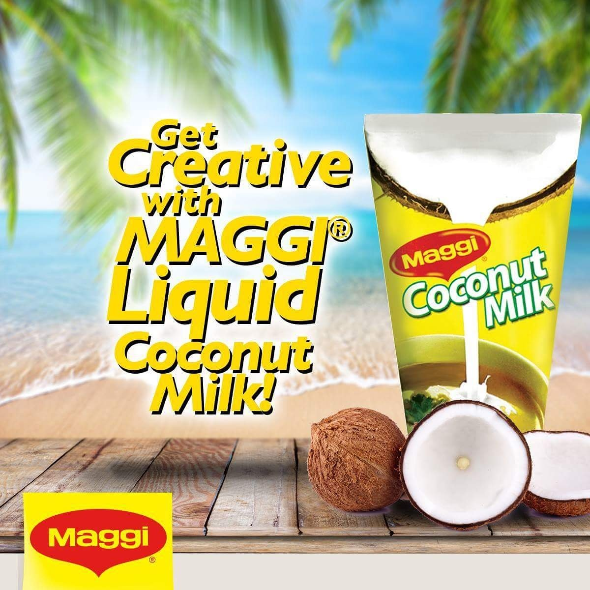 maggi coconut milk powder how to use
