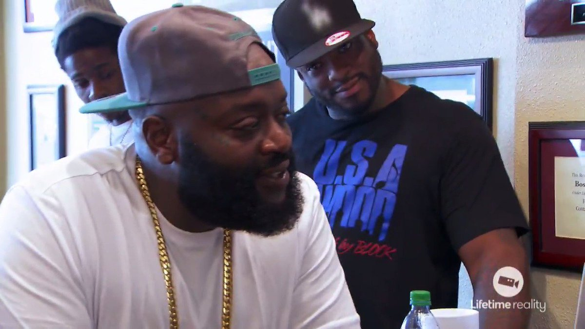Rick Ross shares some knowledge on starting from the bottom. #TheRapGa...