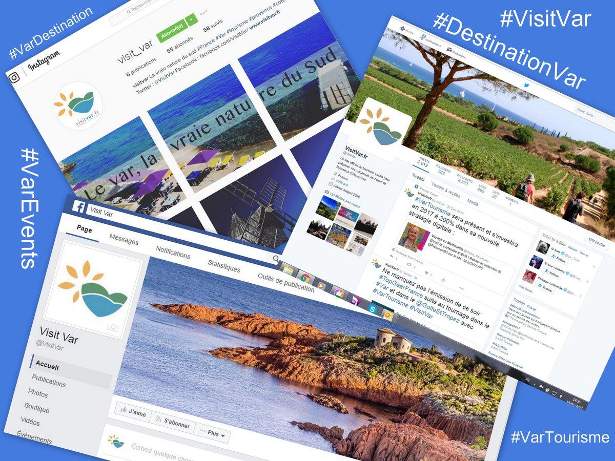 #BREAKING: #VarTourisme lance sa page Facebook pendant le #VEM8  https://www. facebook.com/VisitVar  &nbsp;   : Passez nous voir : Stand  26<br>http://pic.twitter.com/kSZkz1aMi1