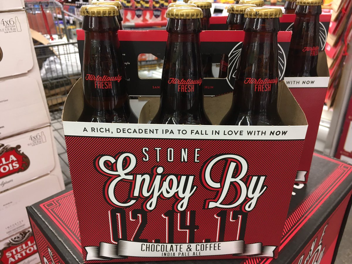Brewed to be enjoyed by Valentine's Day, @StoneBrewingCo's Chocolate a...