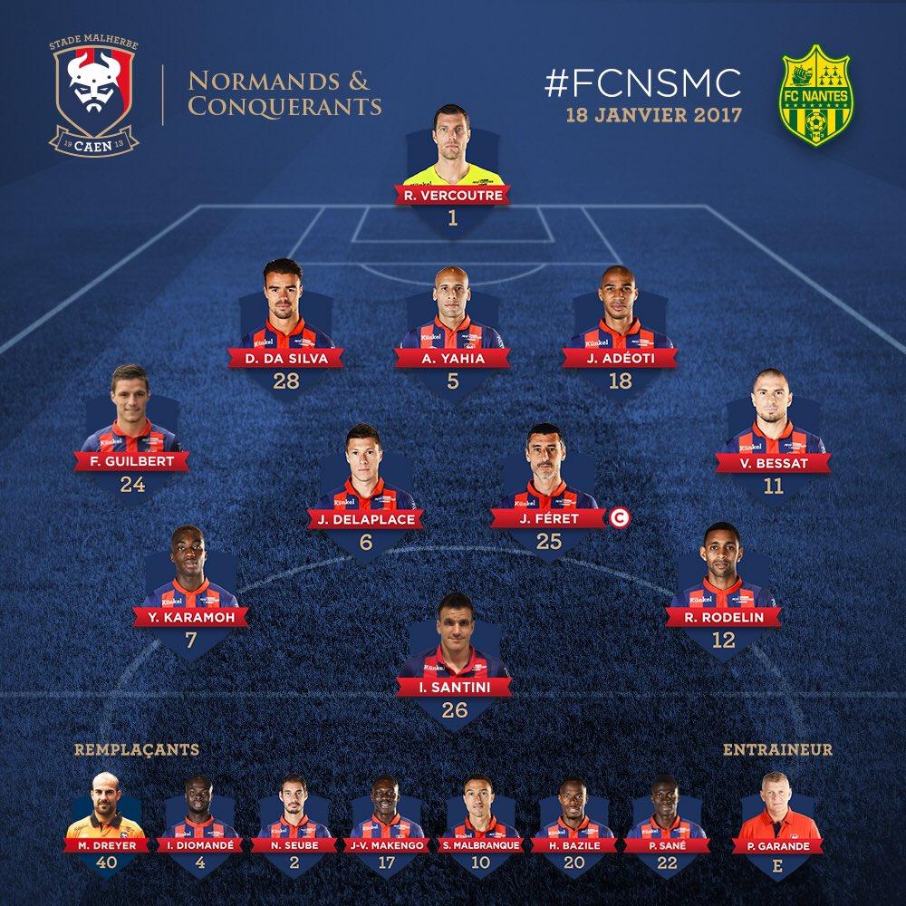[17e journée de L1] FC Nantes 1-0 SM Caen  C2eKzKcXAAwHCnQ