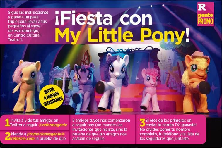 #FelizMiercoles para ganarte pases para ver #MyLittlePony este fin de...