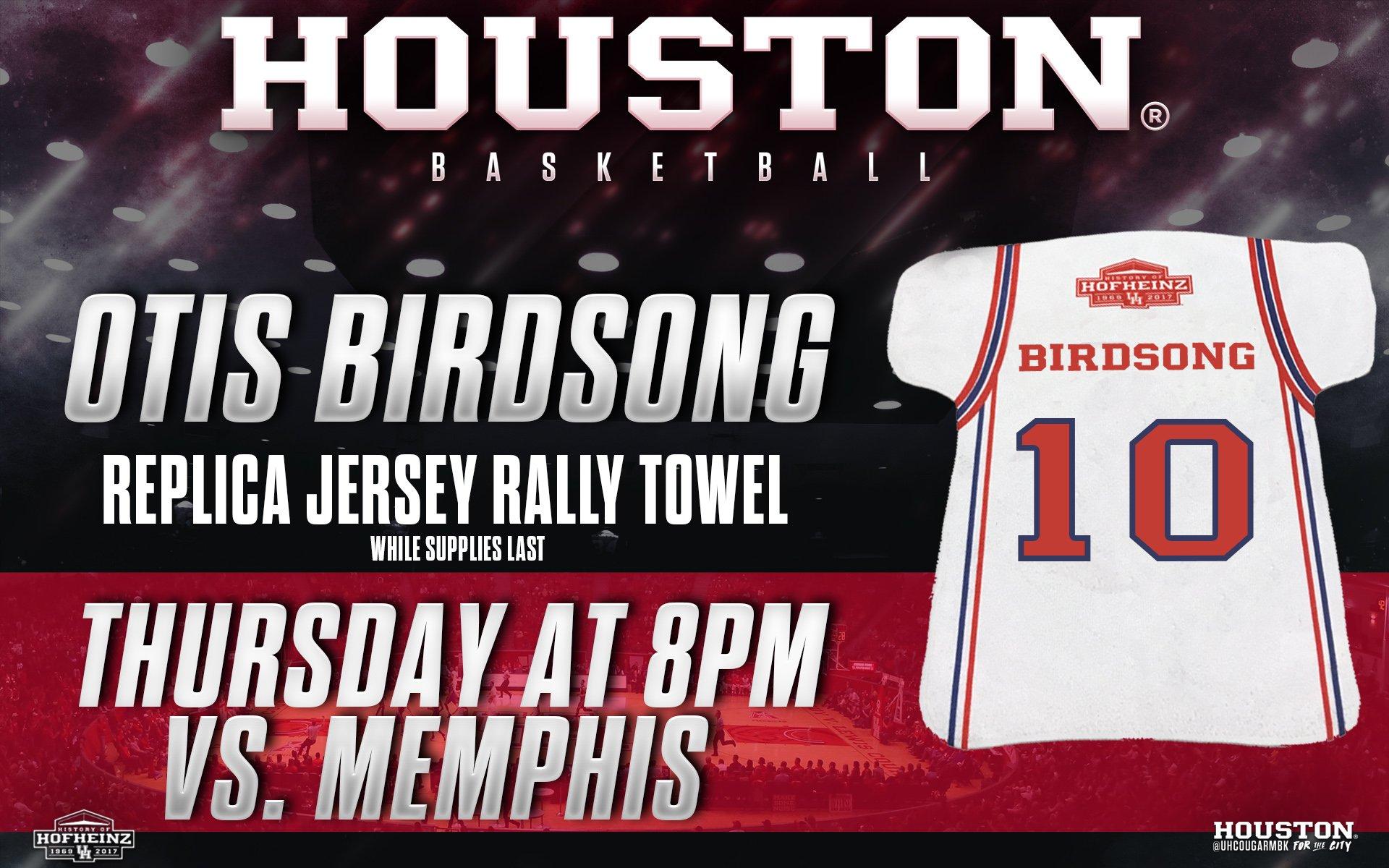 "Houston Athletics on Twitter ""TOMORROW Otis Birdsong will be"