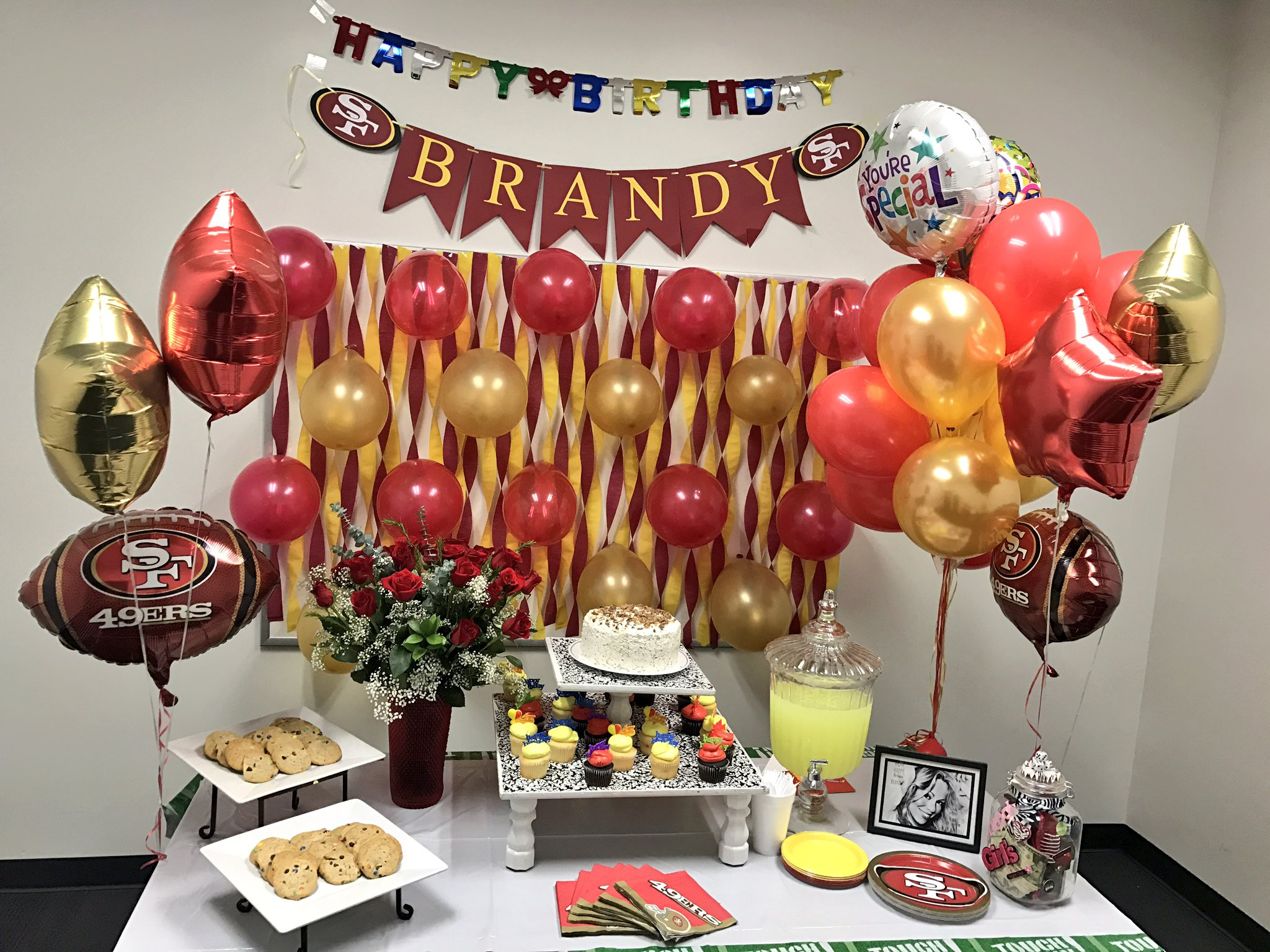 Brandy Ioane On Twitter Surprise Birthday At The Office 49ers