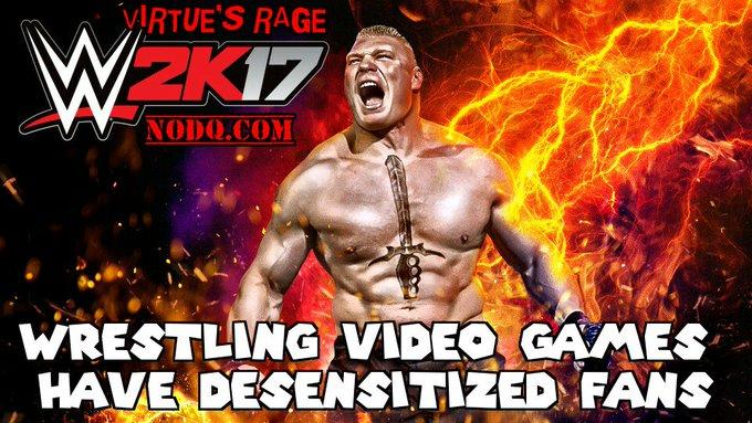 Wrestling Video Games Have Desensitized Fans