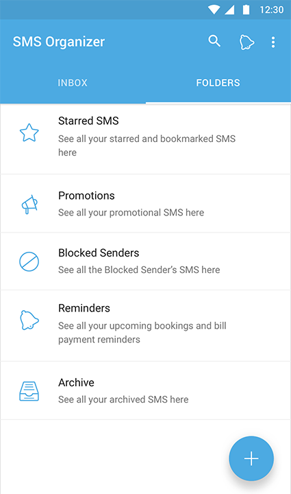 The microsoft garage on twitter declutter your sms inbox with 1054 am 18 jan 2017 stopboris Gallery