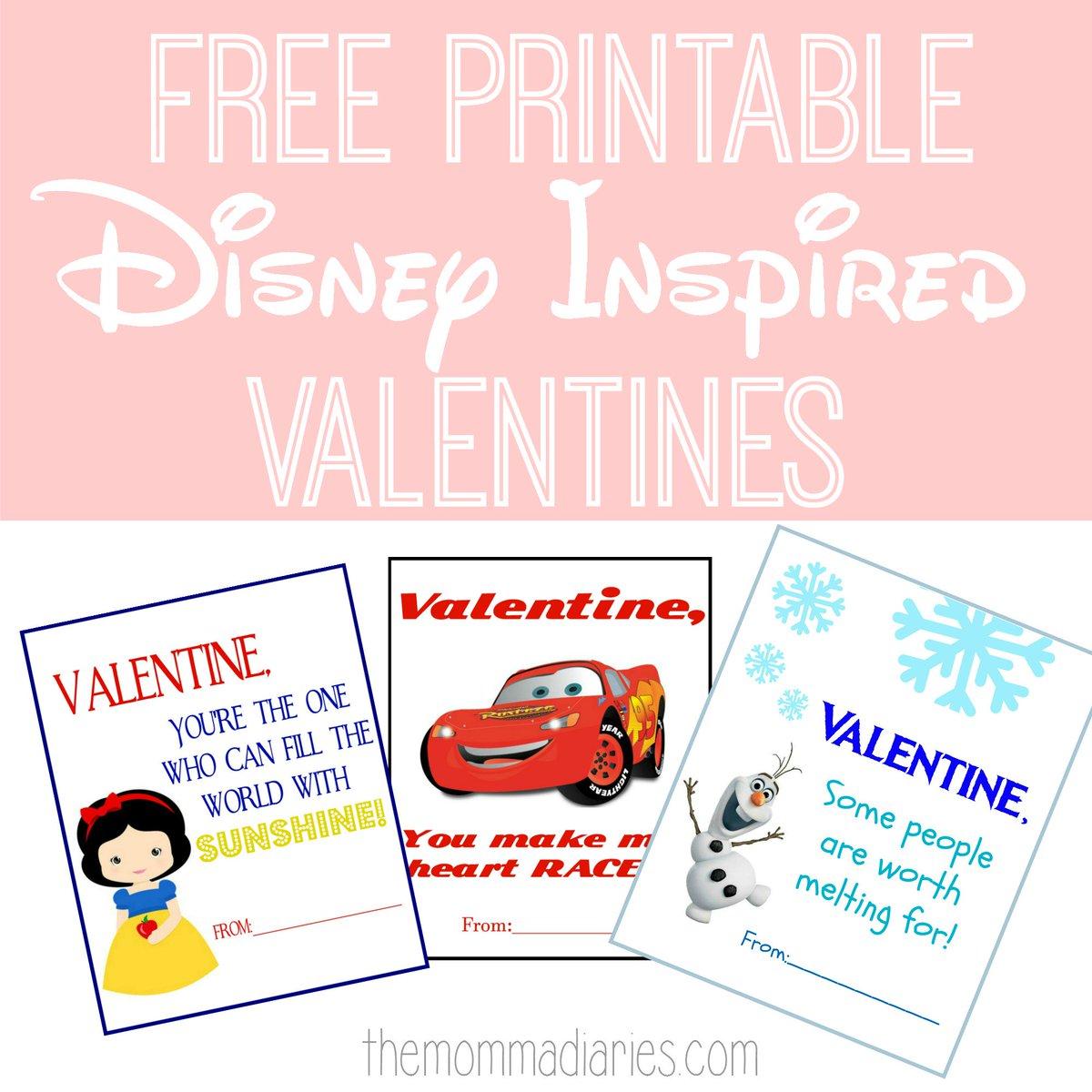 Free Printable Disney Inspired Valentines are up on the blog today!  http:// bit.ly/2iRVlAI  &nbsp;   #DisneySMMC #DisneySide #DisneyKids<br>http://pic.twitter.com/aPbY0O6Do9