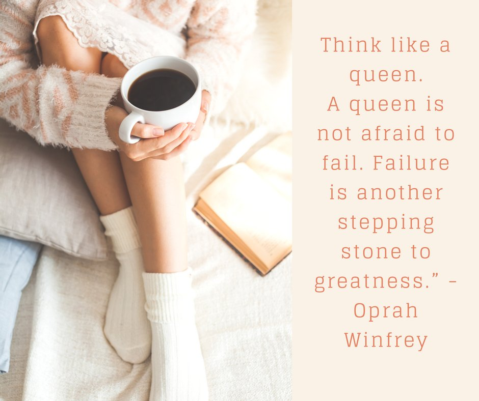 Think like a queen! #strongwoman #greatness #motivation #oprah