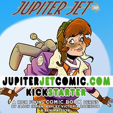 #JupiterJet is here! Get exclusive art and help us create our first comic series! Visit- https://t.co/MtZnILoexi https://t.co/VrIrxAluZu