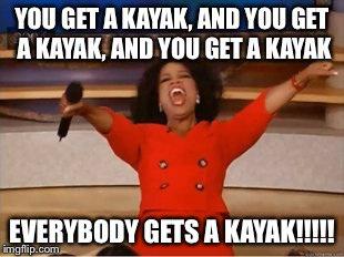 Wishful Wednesday. #kayaks #whitewater #oprah #adventure #oprahwhereismyfreekayak