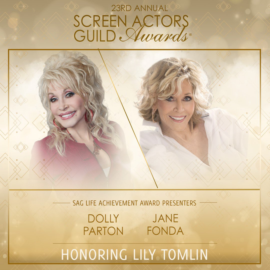 RT @Janefonda: .@DollyParton and I are psyched about co-presenting to our dear pal @LilyTomlin https://t.co/ATKGjTdpBI
