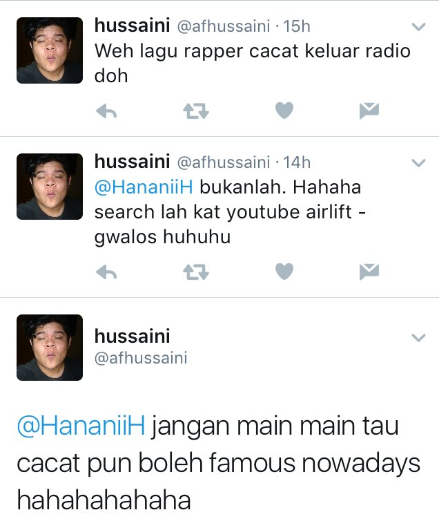 Malay please. Kid has more talent in one hand than you do your entire body. Joke's on you, homie.