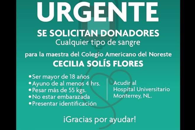 Apoyemos! #ColegioAmericanodelNoreste nos necesita. https://t.co/svIpmcubEg