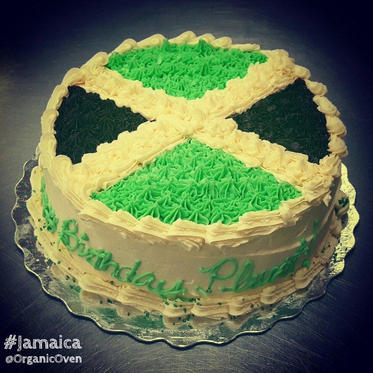 Organic Oven on Twitter Jamaican flag birthday cake GlutenFree