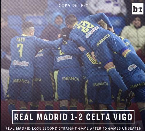 أهداف مباراة ريال مدريد وسيلتا فيغو 2-1