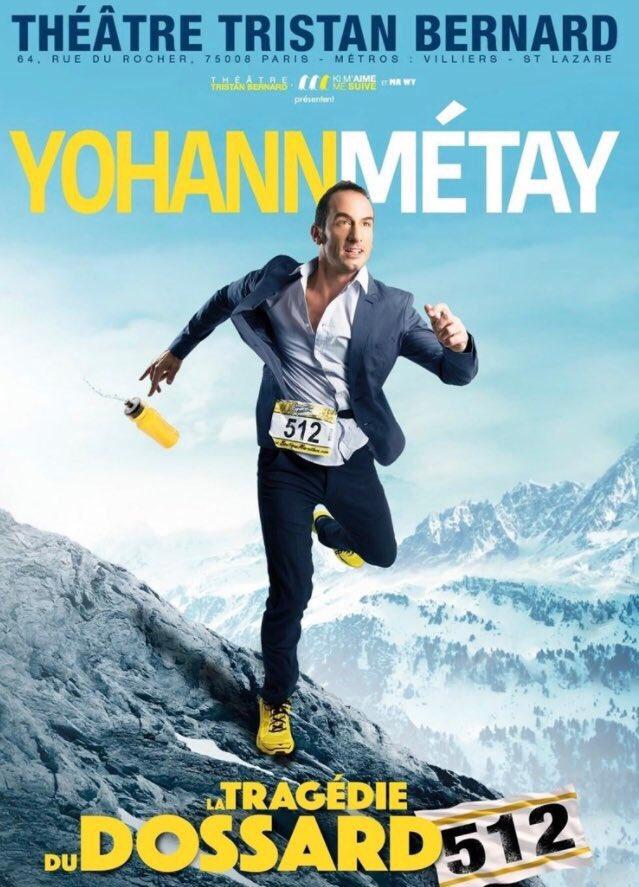 Les reprises font plaisir quand ce sont de bons spectacles ! Comme l&#39;épopée de @YohannMetay ! #Whyirunbelleville #Théâtre #Running #Trail <br>http://pic.twitter.com/lAzmCCJqwq