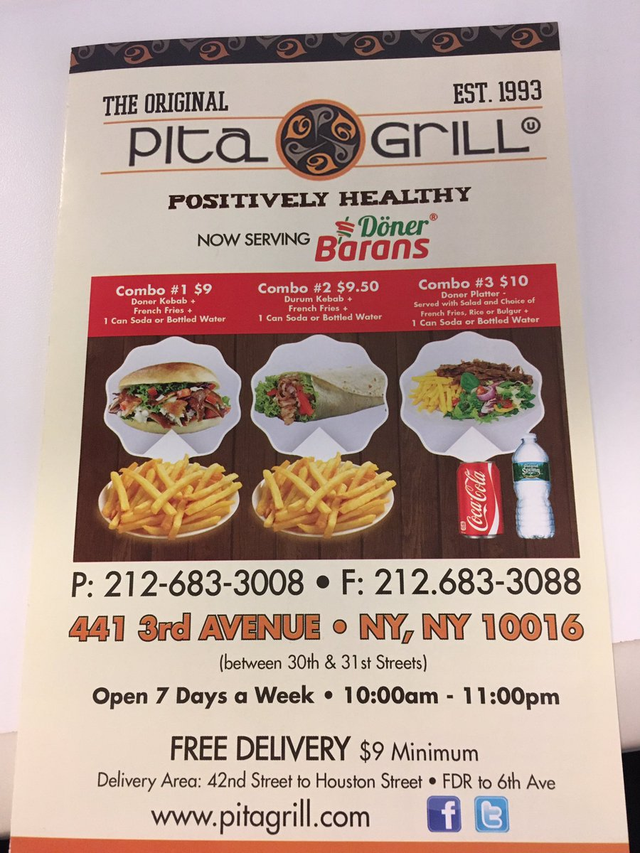 Ou Kosher On Twitter Pita Grill On 3rd Ave Is Not Kosher They