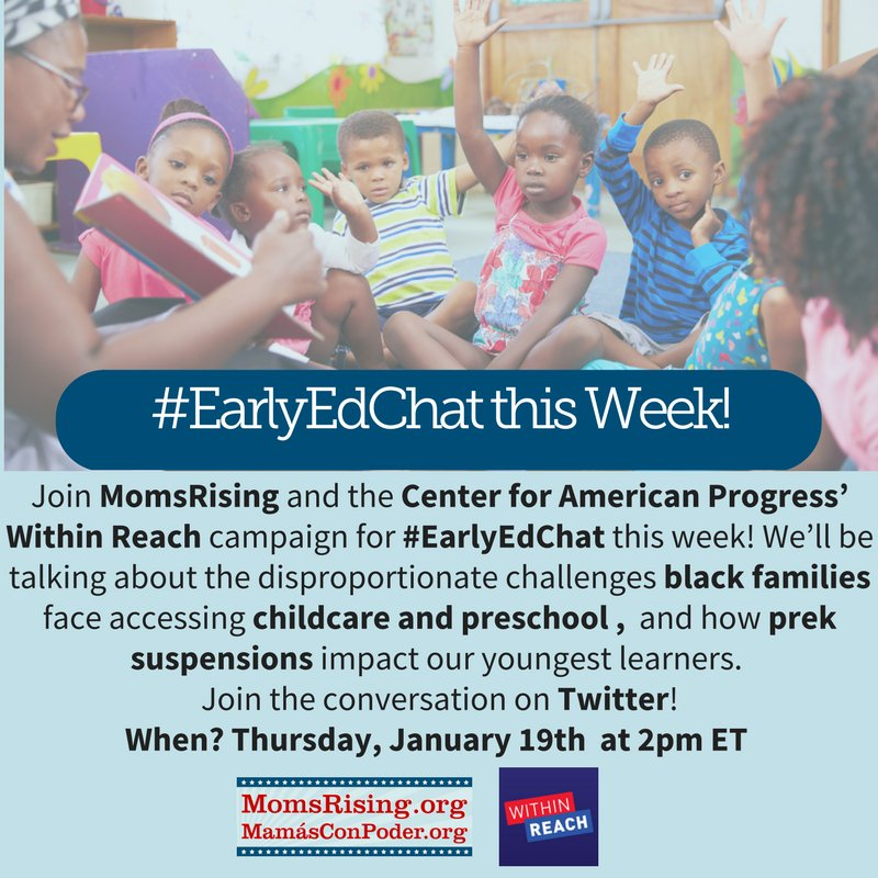 Thumbnail for #EarlyEdChat: Disproportinate Challenges Black Families Face Accessing Childcare and Pre-K Suspensions