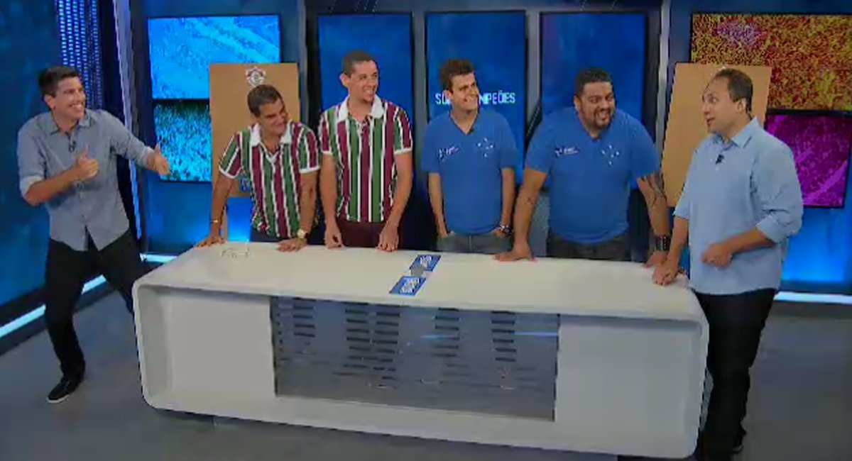 Os #FanáticosCeleste bateram os #FanáticosFluzão e venceram a prova 'S...